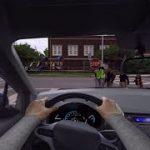 スマホのながら運転でヒヤリハットを体験できるVR動画