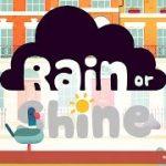 サングラスをかけると雨が降ってしまう少女のアニメ Google Spotlight Stories[Rain or Shine]