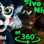 Five Nights at Freddy's の着ぐるみ人形に襲われてしまうVR動画