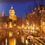 VR動画でオランダの観光地アムステルダムの観光ガイド