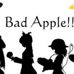 Bad Apple!! PV風 地霊殿メンバーが踊ってみた! MMD VR動画