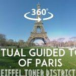 フランス パリのエッフェル塔の観光ガイドVR動画