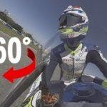 MOTO2 ロードレース用のバイクの速さをVR動画で体験