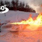 [武器紹介動画]火炎放射器をぶっ放すVR動画