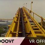 ソウルグランドパークのジェットコースターのVR動画