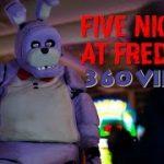 ホラーゲーム [Five nights at freddy's]の着ぐるみに追い詰められちゃう ホラーVR動画
