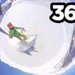 イタリアのリゾート地 サウゼ・ドゥルクスでスキーしちゃうVR動画