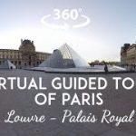 パリの世界遺産ルーブル美術館とパレ・ロワイヤルのVR動画