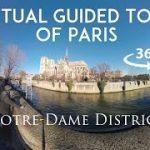 [観光ガイドVR動画]パリのノートルダム大聖堂をVR動画で見学