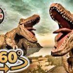 ティラノサウルスを観察できちゃう恐竜VR動画