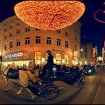 クリスマスシーズンのオーストリア ウィーンのVR動画