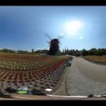 ハウステンボスの風景を撮影したVR動画