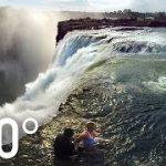 世界遺産 ヴィクトリアの滝をVR動画で見学