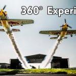 プロペラ飛行機のアクロバット飛行を体験できちゃうVR動画