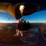 気球からウィングスーツを着てジャンプしちゃうVR動画