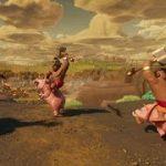 人気ゲーム クラッシュオブクランでホグライダーになって敵の城に攻め込んじゃうVR動画