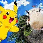 現実世界にポケモンが居たら・・・Pokemon GOのVR動画