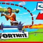 人気ゲームFortniteのロケットランチャーが直撃しちゃうVR動画