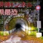 心霊スポットになっているトンネルを歩いちゃうVR動画