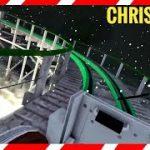 雪降るクリスマス仕様のジェットコースターに乗れちゃうVR動画