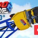 レゴでできたスターウォーズのジェットコースターのVR動画