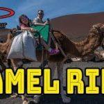 ランサローテ島でラクダに乗って観光できちゃうVR動画